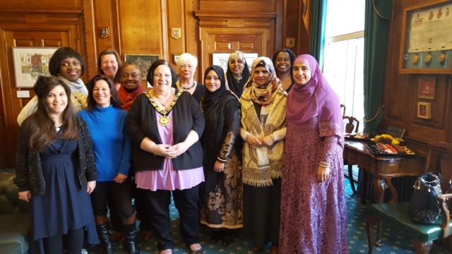 Mayor of Camden with HSC volunteers - March 2016
